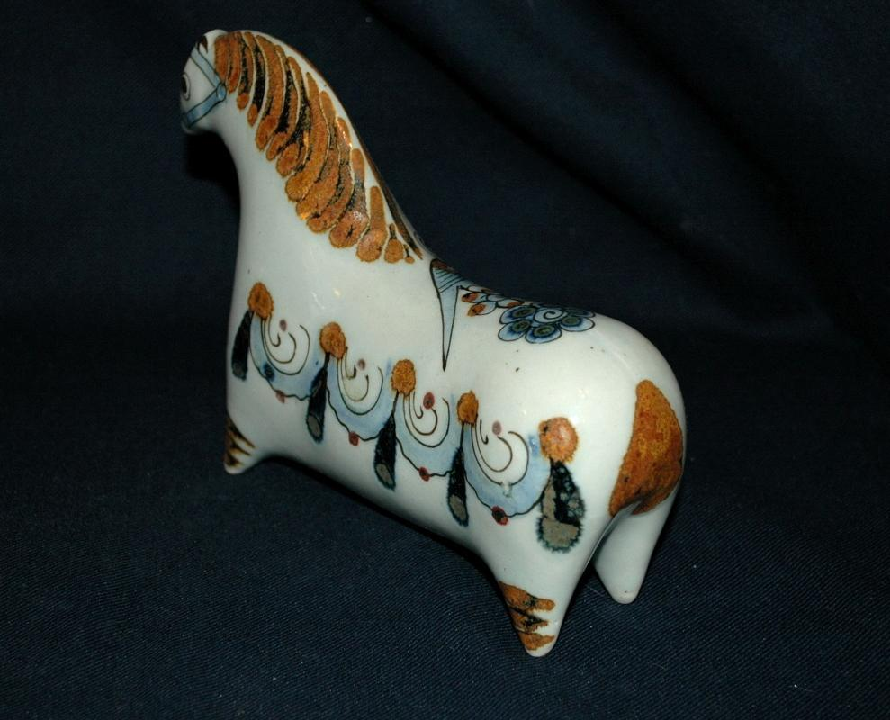 Vintage Ken Edwards Tonala Pottery Horse Mexico