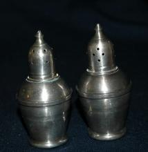 Sterling Silver, Crest Silver Manufacturing Co.  Salt Pepper Shakers