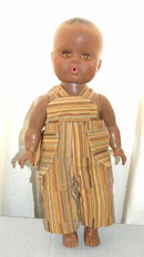 Vintage  Black Brown Baby Doll ~ African American ?~