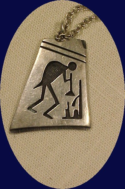 Hopi  Indian Hand Crafted Sterling Silver