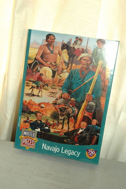 Navajo Legacy Master Pieces 750pc Jigsaw Pussle unopened