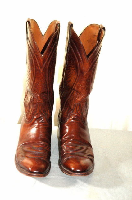 Lucchese Brown Men's Cowboy Boots 12AA    ** PRICE REDUCED**!!
