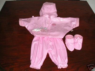 Zapf Creations  Annabell Baby Born 5 pc Rainy