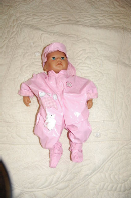 Zapf Creations  Annabell Baby Born 5 pc Rainy