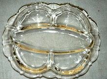 Cambridge Glass Co. Mt. Vernon Relish Dish