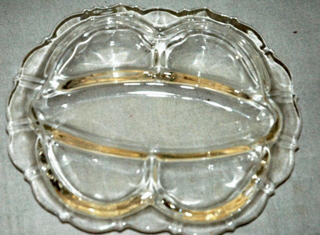 Cambridge Glass Co. Mt. Vernon Relish Dish