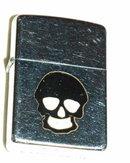 Black Skull Zippo lighter