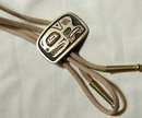 Spirit Whale  Sandcasted Bronze Bolo Tie N. W. Native American Art
