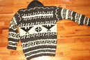 Authentic Cowichan Indian Eagle Wool Sweater