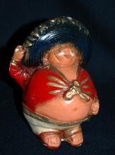 Old Chalkware  Mexican Mariachi Singer  Fat Man