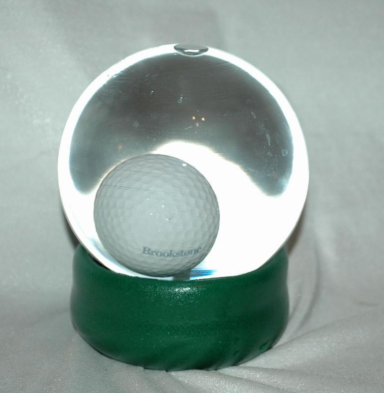 Golf Ball Water Globe