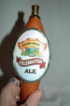 Sierra Nevada Celebration Ale tap handle.