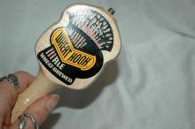 Wheat Hook Ale, Wheat Brewed  Wood Tap Handle
