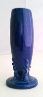 Fiestaware Matching Cobalt Blue Bud Vases  Set of (2)