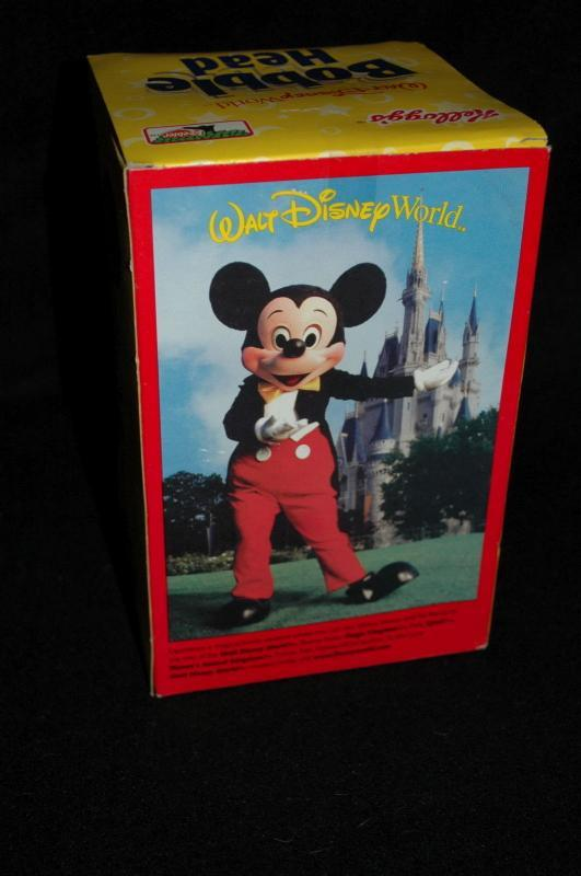 WALT DISNEY WORLD MICKEY MOUSE BOBBLE HEAD KEEBLER & KELLOGG'S 2002 PROMOTION