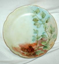 ANTIQUE  HAVILAND H & CO LIMOGES FRANCE PORCELAIN 1900 , Hand Painted Desert Dish Bowl