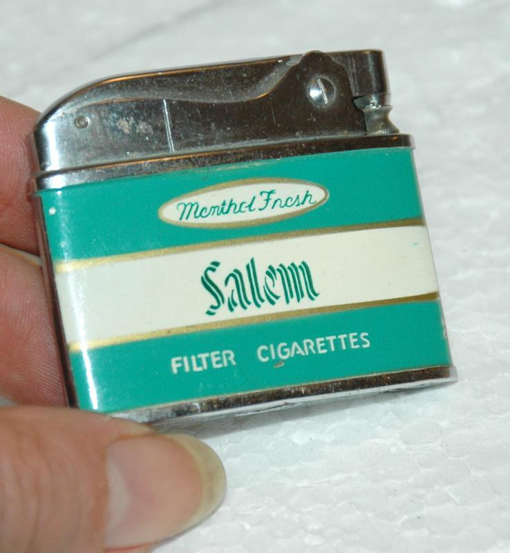 SALEM TOBACCO CIGARETTE LIGHTER