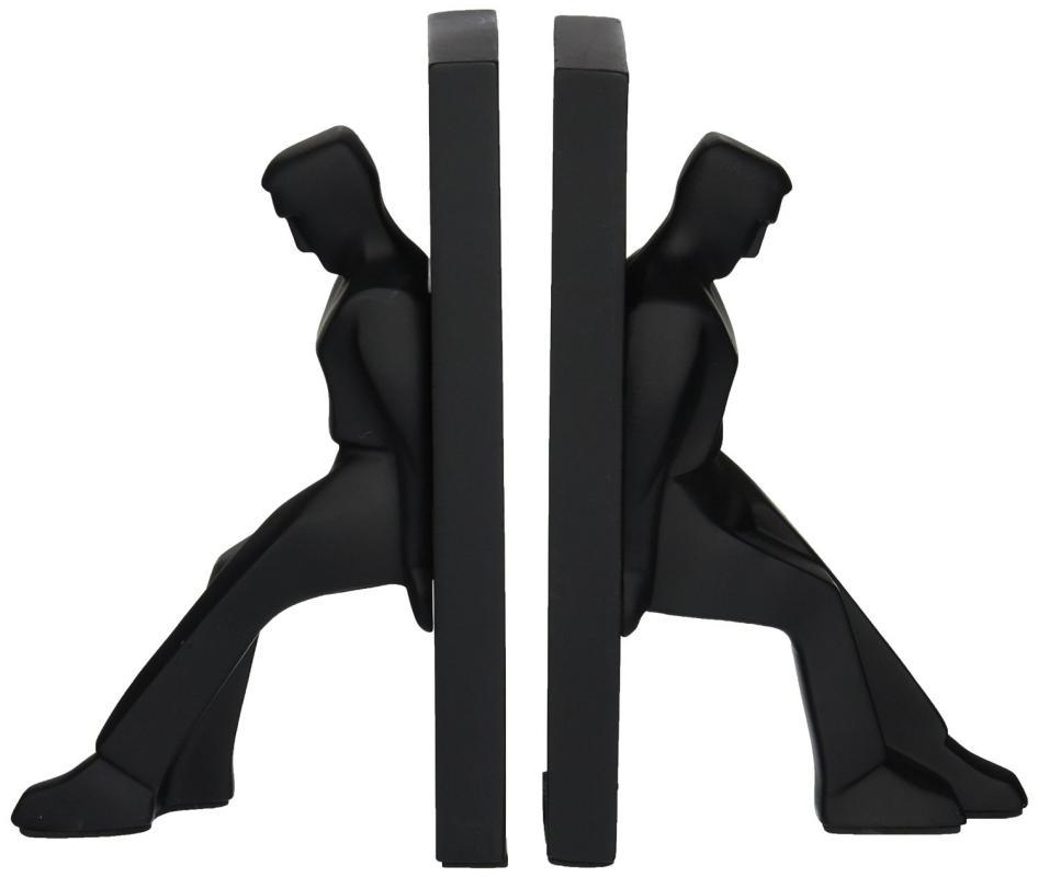 Leaning Man Statue Book Ends by Chris Collicott for Kikkerland