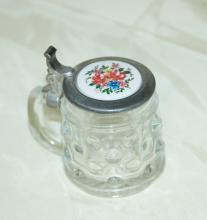 Miniature Schnapps Glass Stein German BMF   Schnappskreuger