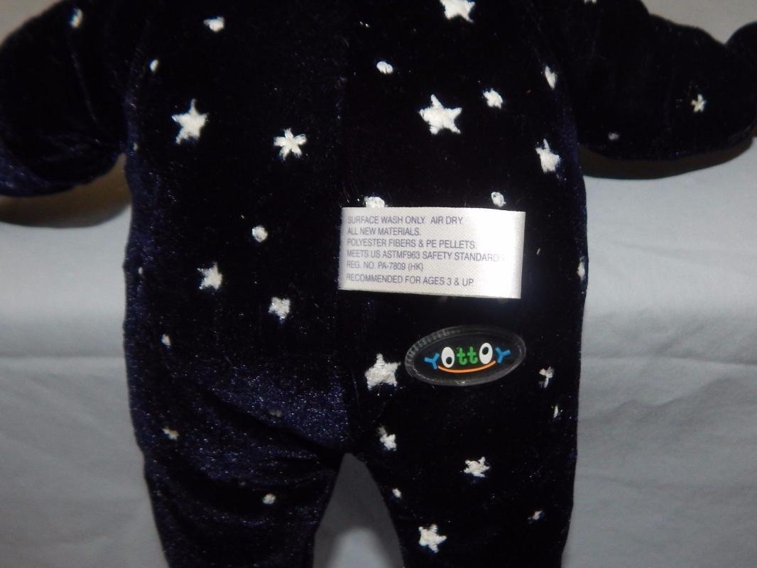 Good Night Mr. Night Plush Stuffed Toy.  Glow in the Dark Stars new with Tags Yottoy
