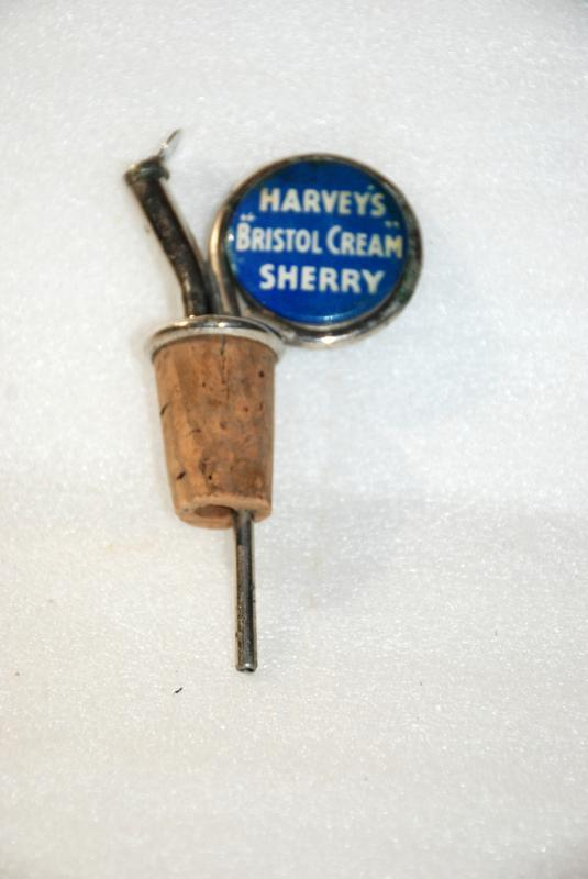 Harvey's Bristol Cream Sherry Cork, Stopper, Spout , Vintage Collectible