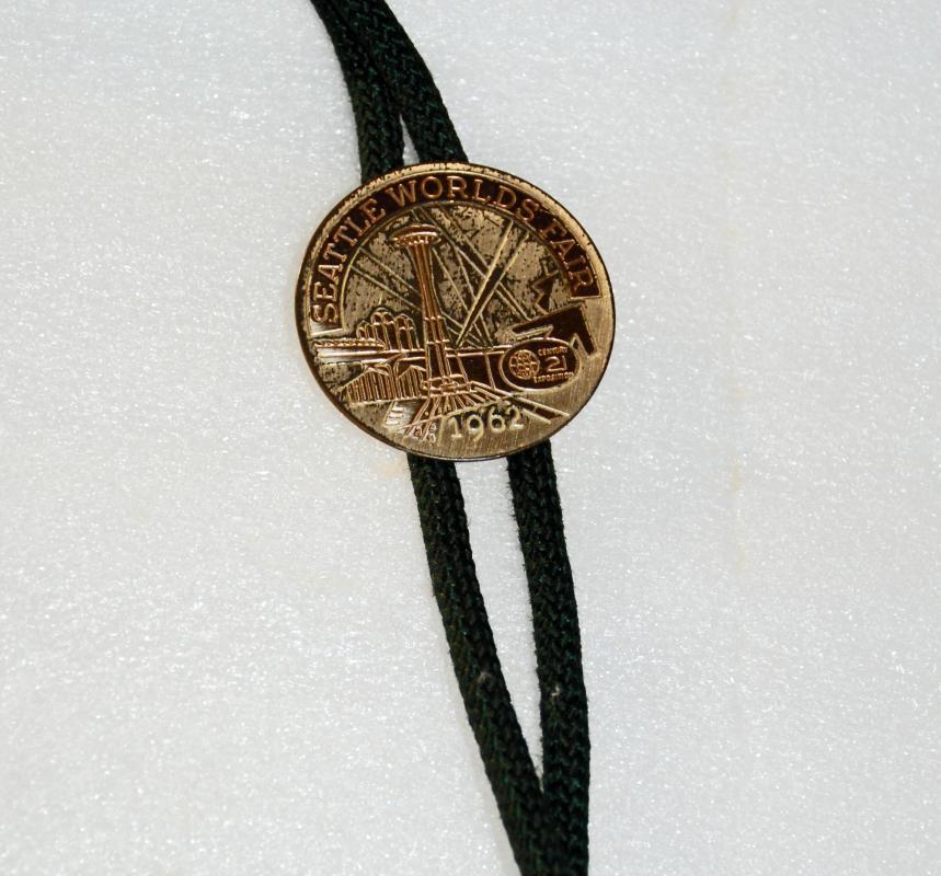 1962 Seattle World's Fair Century 21 Bolo Tie