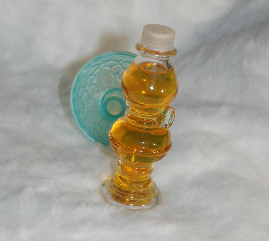 Avon Perfume Oil  Lamp Bottle - Topaze Cologne