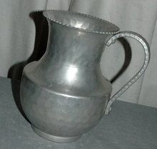Cromwell Hand Wrought  Aluminum Pitcher