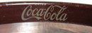 Vintage Oval Coca -Cola Tray from the 1970's