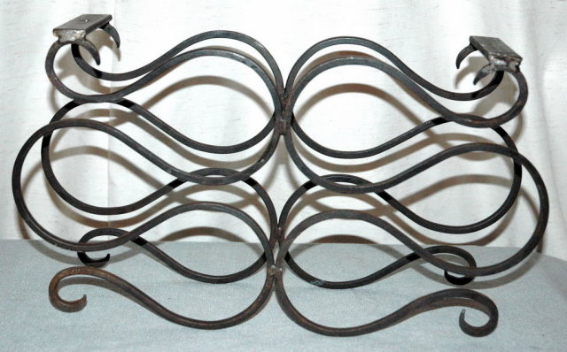 Wrought Iron work Wine Rack