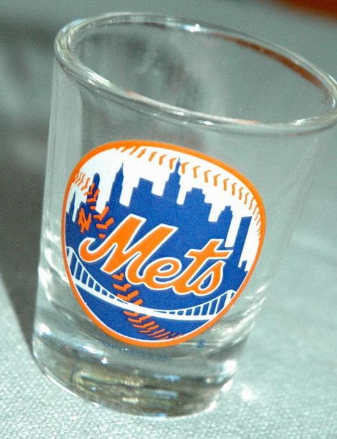 New York Mets Shot Glass