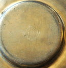 Old Vestinn Norway Pewter Dish  City of Bergen on the rim