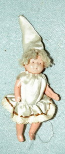 Little Girl Celluloid Baby Doll