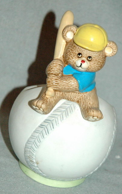 Napco  Baseball Bear Planter