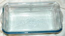 Blue Fire King Glass Loaf Baking Dish -Vintage