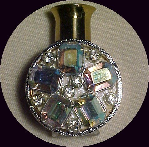 Aurora Borealias Encrusted Goldtone Perfume   * PRICE REDUCTION SALE!**