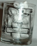 Longacres Horse Racing Course  Long Mile Winner Trooper Seven 1980-1983  Drinking Glass