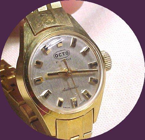 Vint Ladies OCTO Automatic Swiss Watch