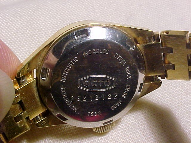 Vint Ladies OCTO Automatic Swiss Watch