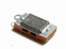 Antique Cracker Jack Toy Harmonica Charm 1 1/8