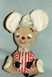 Vintage Dream Pet Mouse in Pajamas