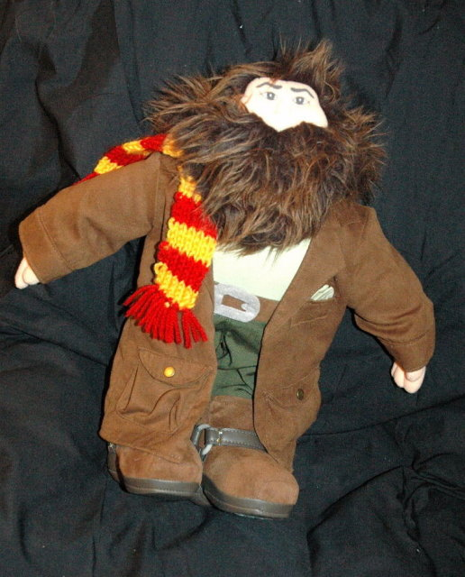 Hagrid Doll From Harry Potter  16