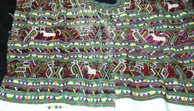 Vint Handwoven  Guatemalan  Mayan Huipil Nebaj   PRICE REDUCTION!**
