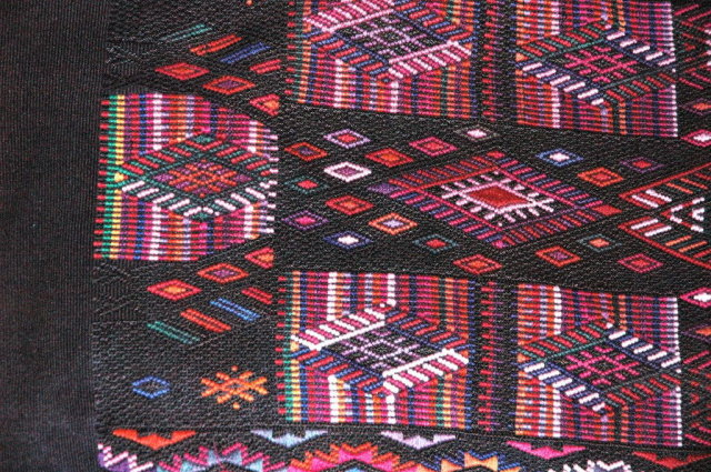 Vint. Handwoven Guatemalan Huipil from Quiche