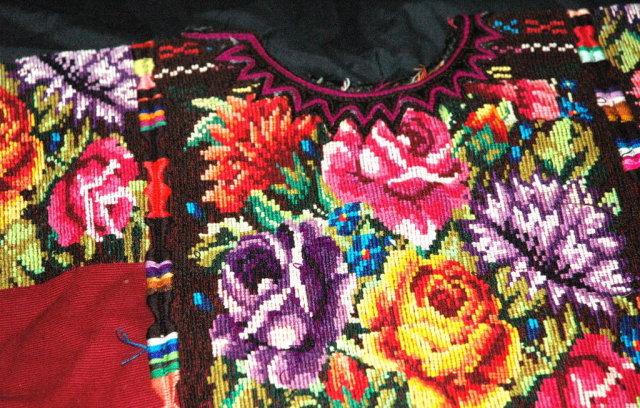 Vint. Handwoven Guatemalan Huipil from Quiche