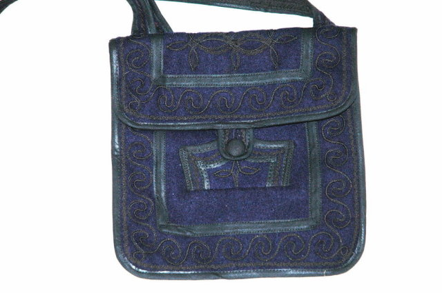 Hand Made Guatemalan  Shoulder Bag from Solola Hand Woven