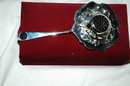 American Silversmith Collection Godinger Tea Stainer in Velvet Box