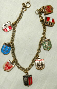 Vintage Coat of Arms Bracelet