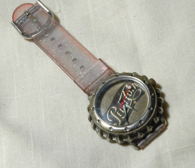 Pepsi Cola bottle cap watch