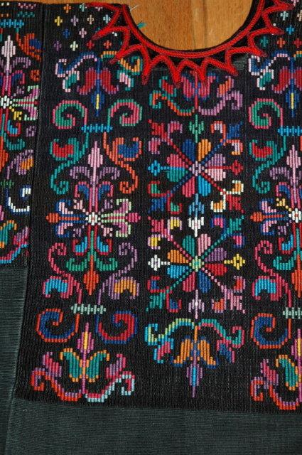 Vintage Guatemalan  Highlands Mayan Huipil